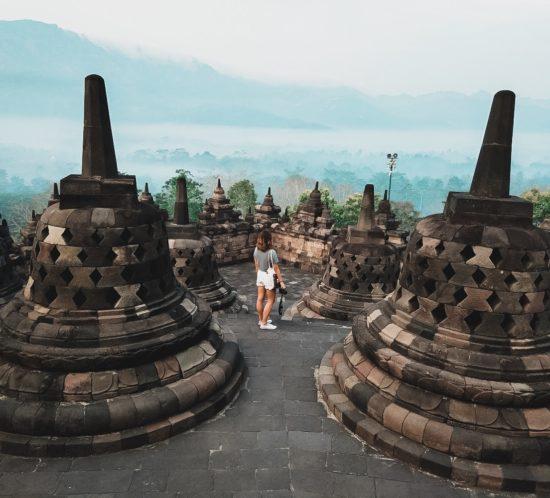 Templo Borobudur   Jessica Ferrerons