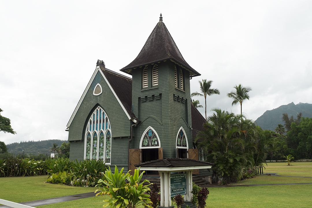 Iglesia de Waioli Huiia, Kauai